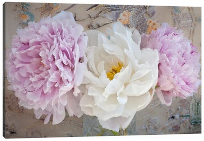 Romantic Flowers Canvas Art Print