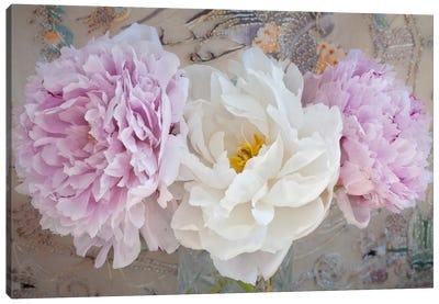 Romantic Flowers Canvas Art Print