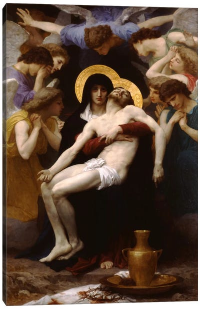 Pieta 1876 Canvas Art Print