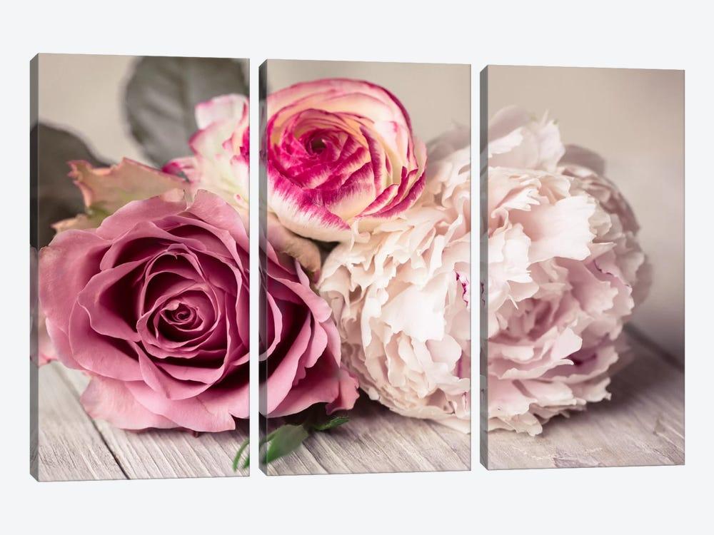 Bouquet by Symposium Design 3-piece Canvas Print