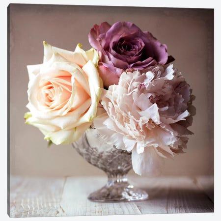 Vintage Photo Floral IV Canvas Print #14217} by Symposium Design Canvas Art Print