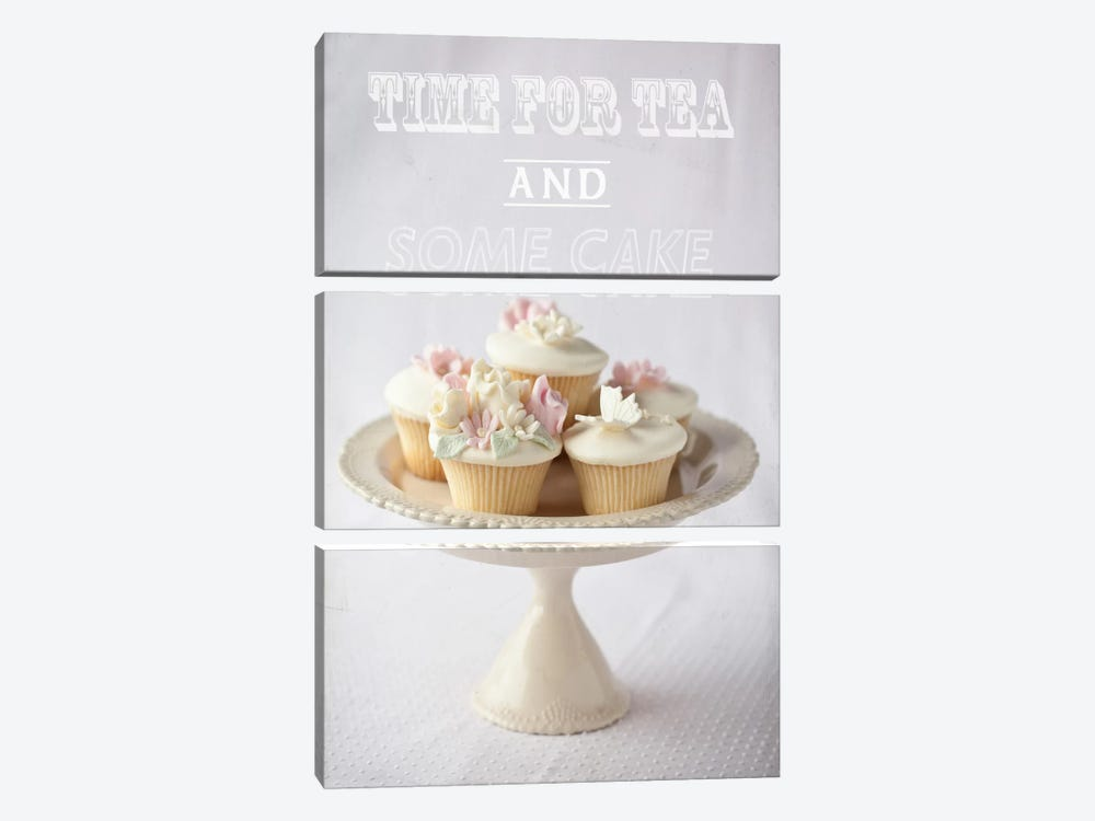Time For Tea by Symposium Design 3-piece Canvas Print