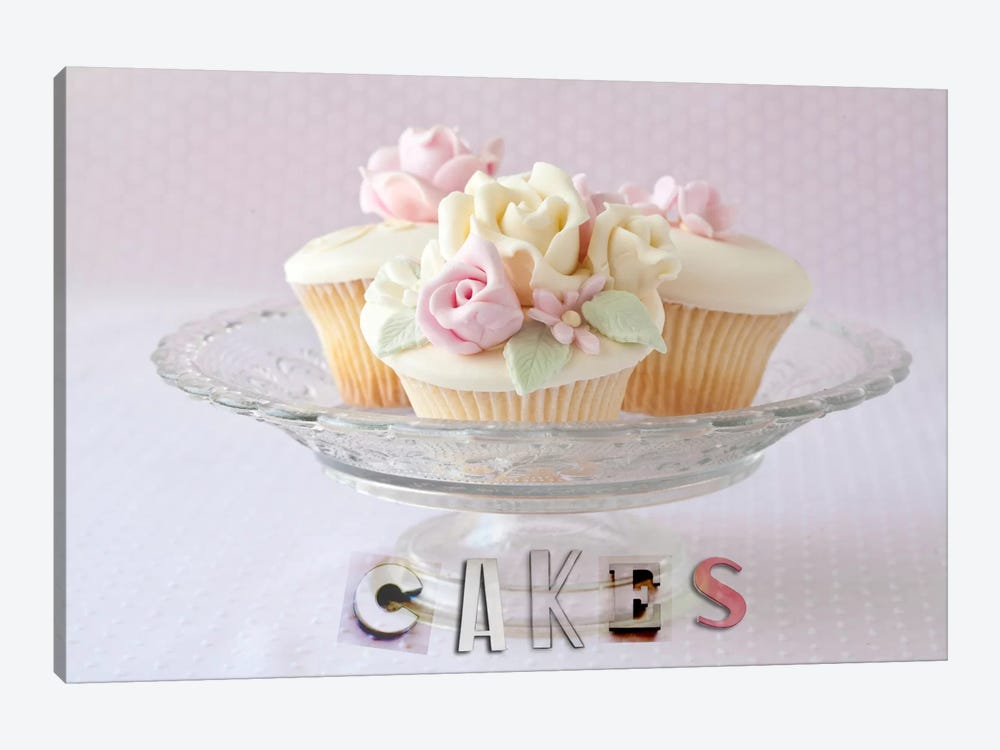 Cakes by Symposium Design 1-piece Art Print