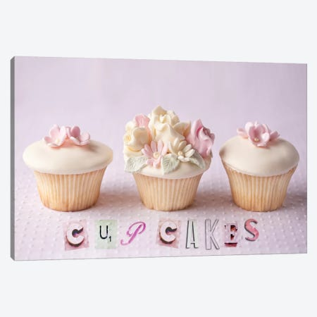 Cupcakes Canvas Print #14221} by Symposium Design Canvas Art Print