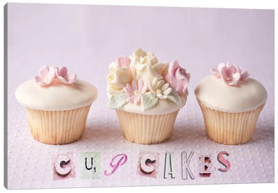 Cupcakes Canvas Art Print
