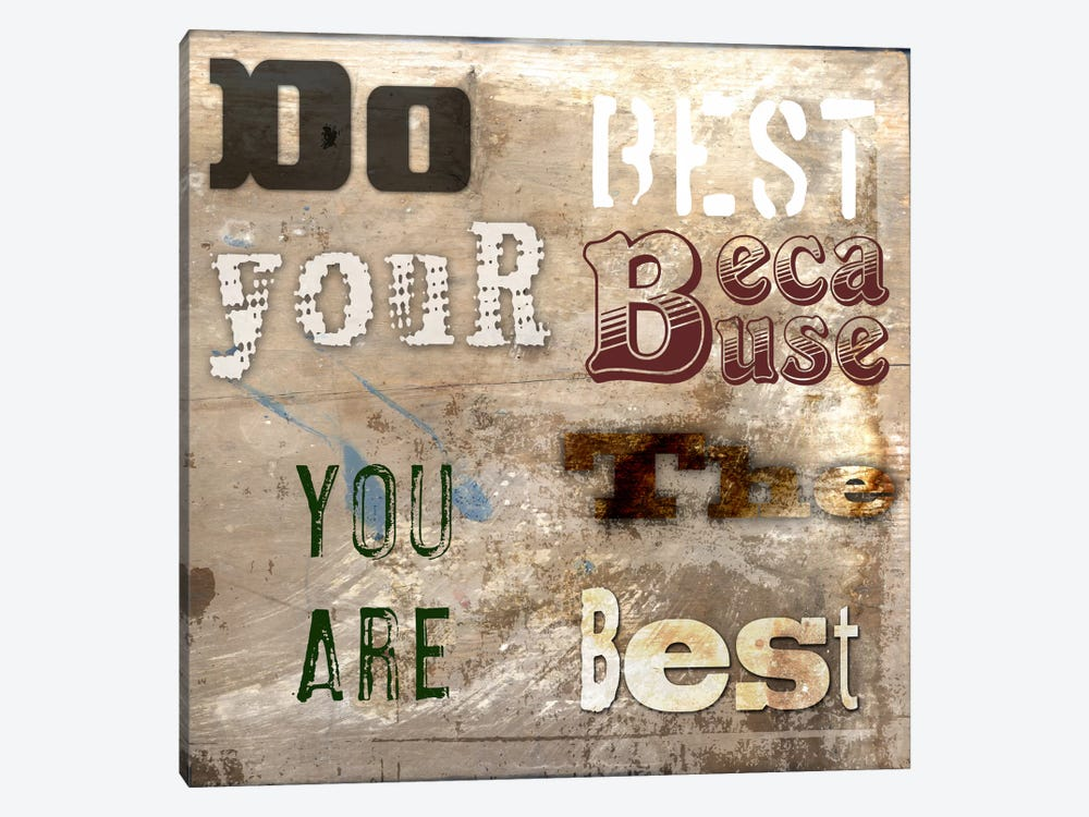 Do Your Best 1-piece Canvas Art Print
