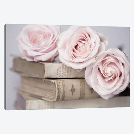 Vintage Roses Canvas Print #14225} by Symposium Design Canvas Artwork