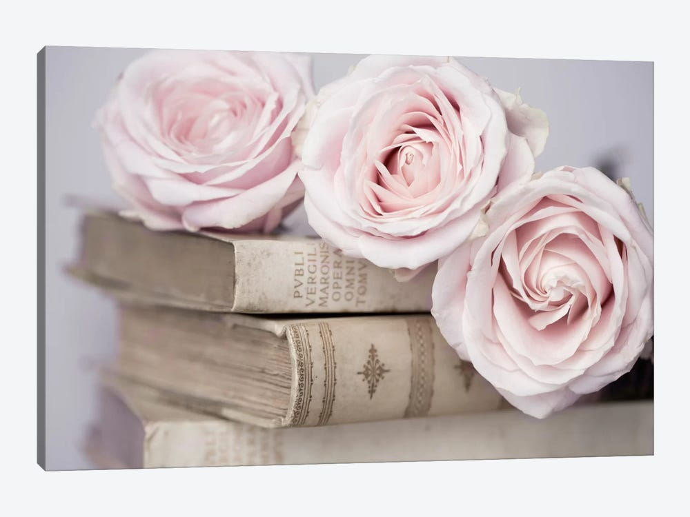 Vintage Roses by Symposium Design 1-piece Canvas Artwork