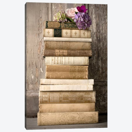 Books II Canvas Print #14229} by Symposium Design Art Print