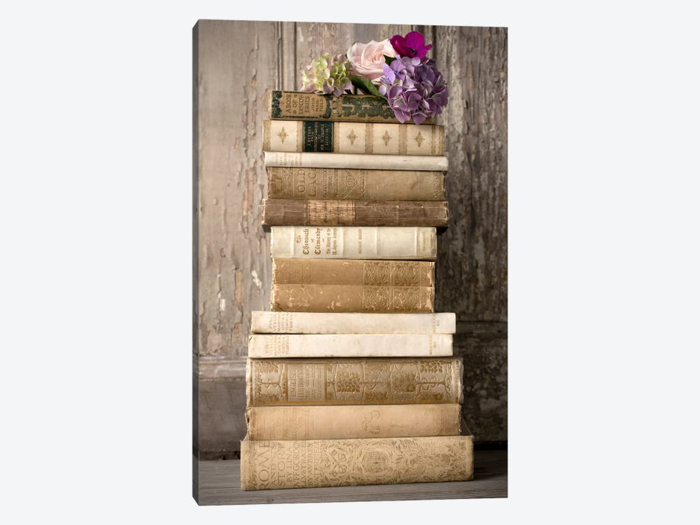 Books II by Symposium Design 1-piece Canvas Artwork