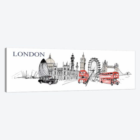 London Canvas Print #14231} by Symposium Design Canvas Art