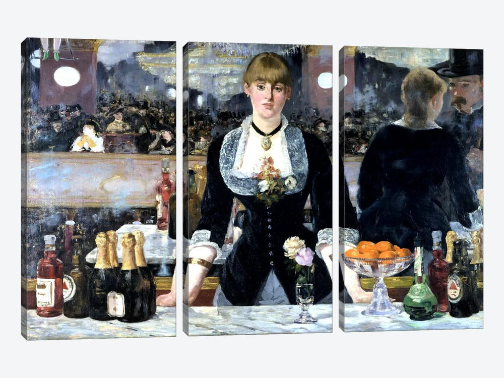 art a bar at the folies El bar del folies bergère és una pintura a l'oli realitzada per Édouard manet el 1882 i actualment exposada a la courtauld institute of art de londres.