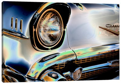 Head Light III Canvas Art Print