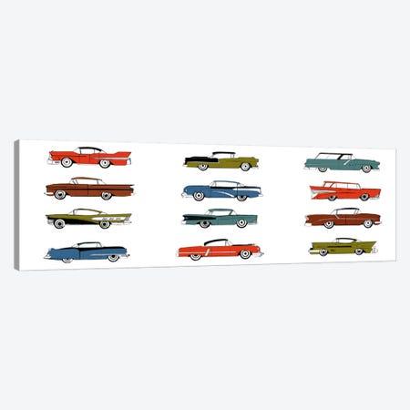 Retro Cars Canvas Print #14243} by Symposium Design Art Print