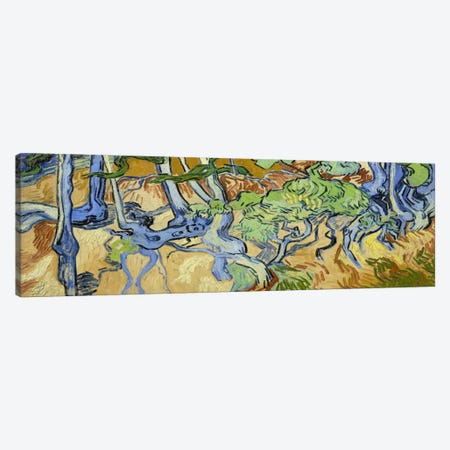 Tree-Roots Canvas Print #14256} by Vincent van Gogh Canvas Print