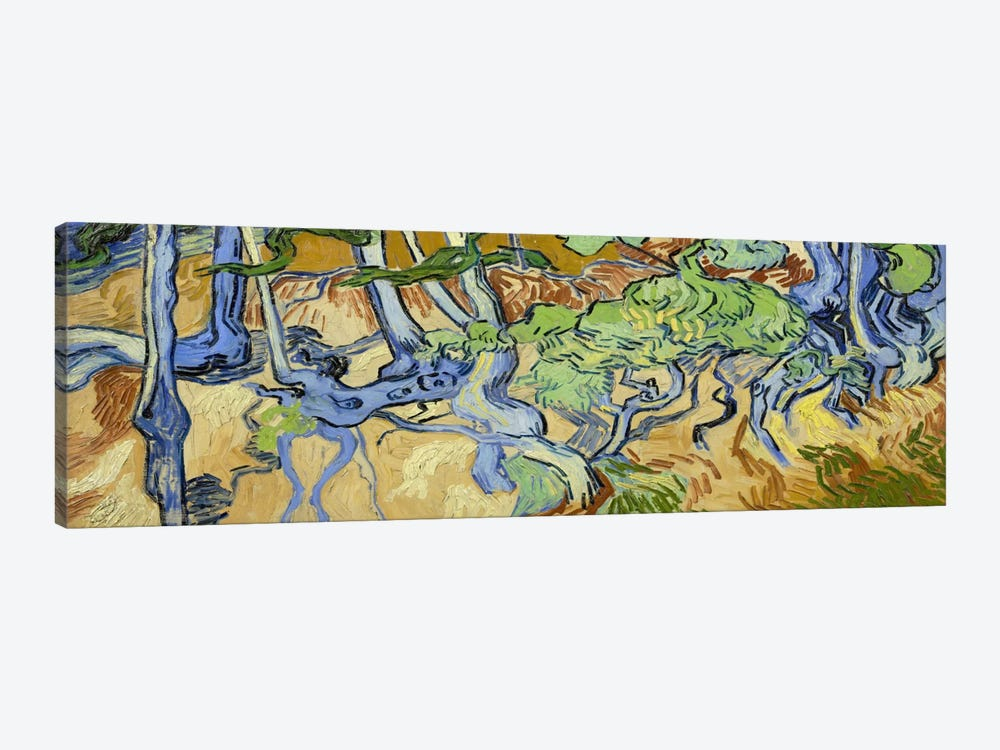 Tree-Roots by Vincent van Gogh 1-piece Canvas Art