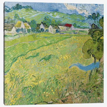 Le Vessenots a Auvers Canvas Print #14264} by Vincent van Gogh Canvas Art