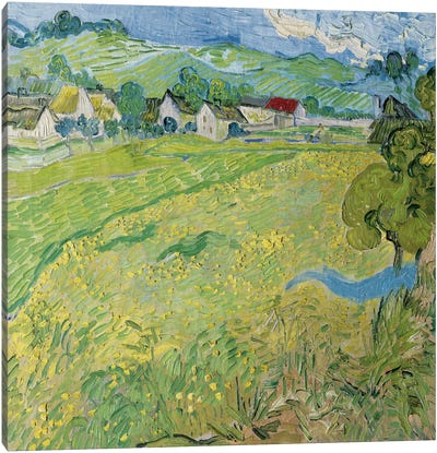 Le Vessenots a Auvers Canvas Art Print