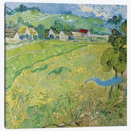 Le Vessenots a Auvers Canvas Print #14264} by Vincent van Gogh Canvas Art