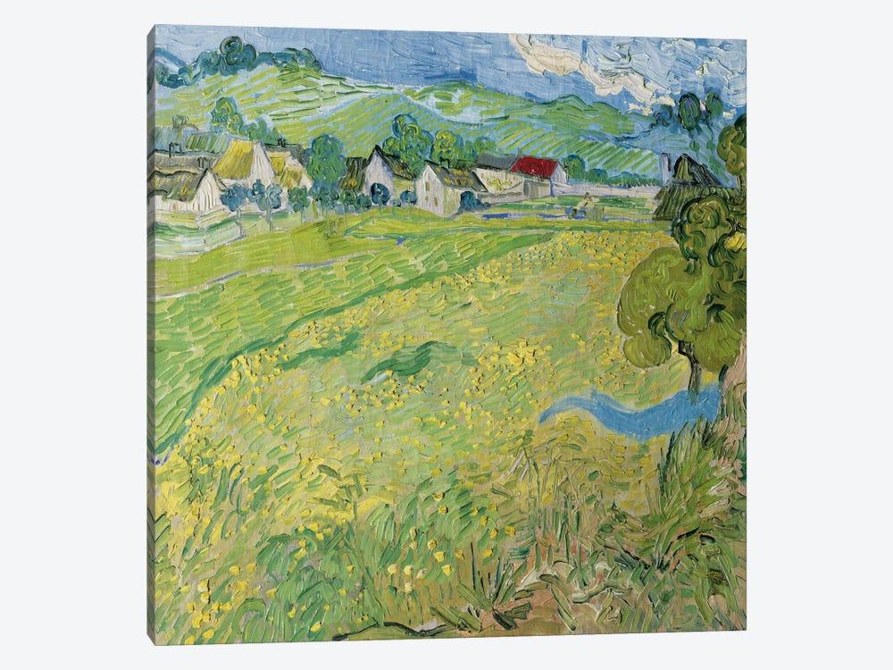 Le Vessenots a Auvers by Vincent van Gogh 1-piece Canvas Art Print