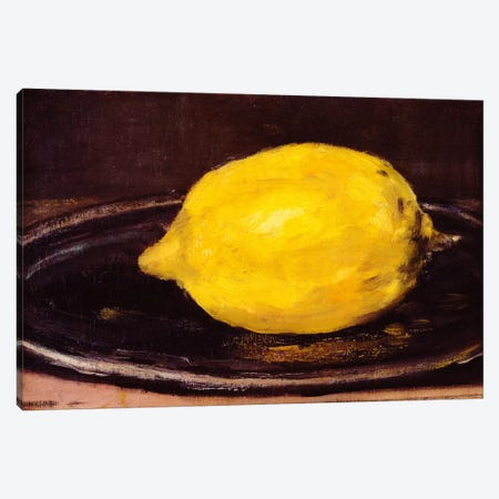 The Lemon Canvas Print #1426} by Edouard Manet Canvas Print