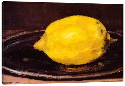 The Lemon by Edouard Manet Canvas Print
