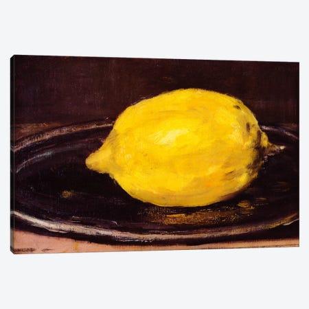 The Lemon Canvas Print #1426} by Edouard Manet Canvas Print