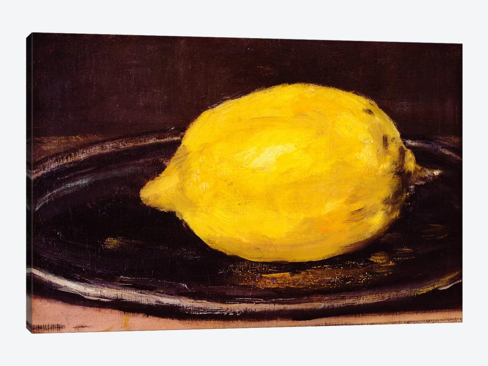 The Lemon by Edouard Manet 1-piece Art Print