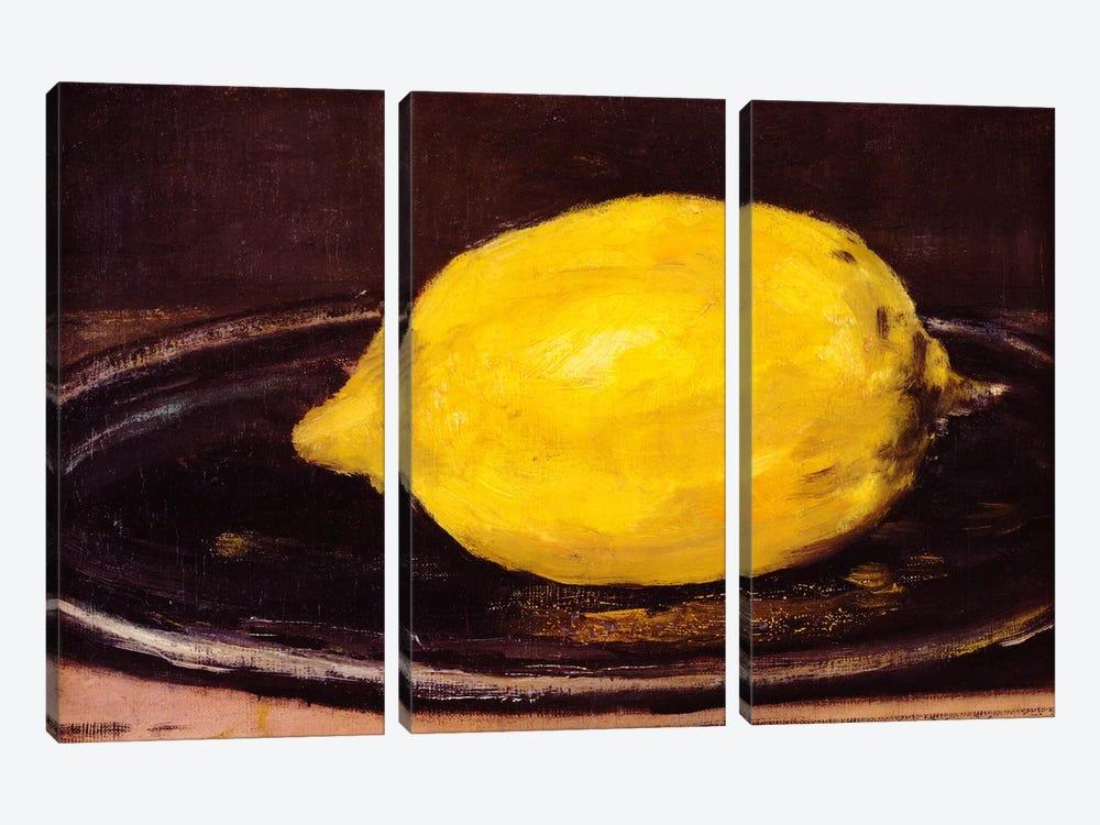 The Lemon by Edouard Manet 3-piece Art Print