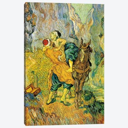 The Good Samaritan Canvas Print #14303} by Vincent van Gogh Canvas Artwork