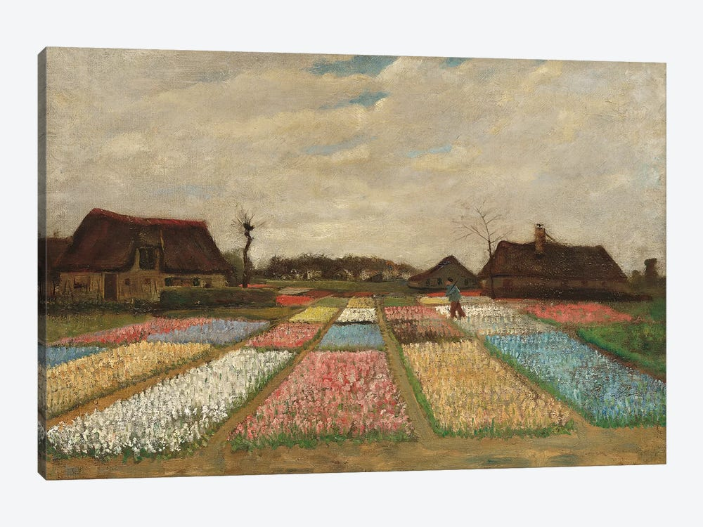 Tulpenfelder (Tulip Fields) by Vincent van Gogh 1-piece Art Print
