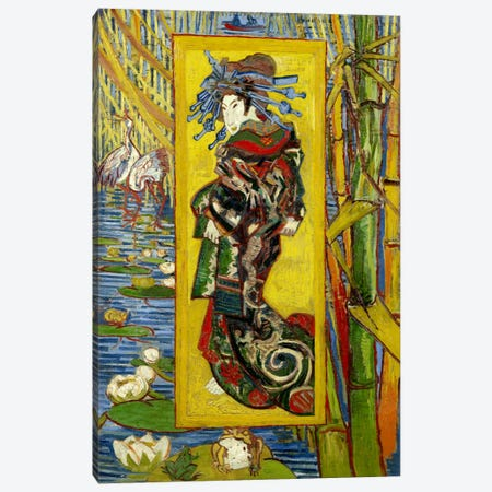 Courtesan (After Eisen) Canvas Print #14329} by Vincent van Gogh Canvas Art