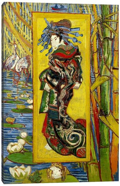 Courtesan (After Eisen) Canvas Art Print