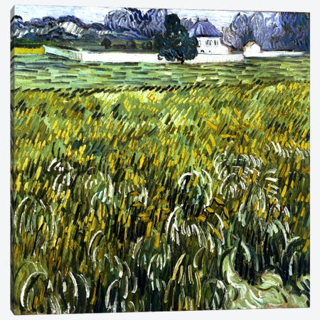 House at Auvers Canvas Print #14350} by Vincent van Gogh Canvas Art Print
