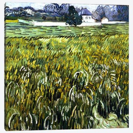 House at Auvers Canvas Print #14350} by Vincent van Gogh Canvas Art Print