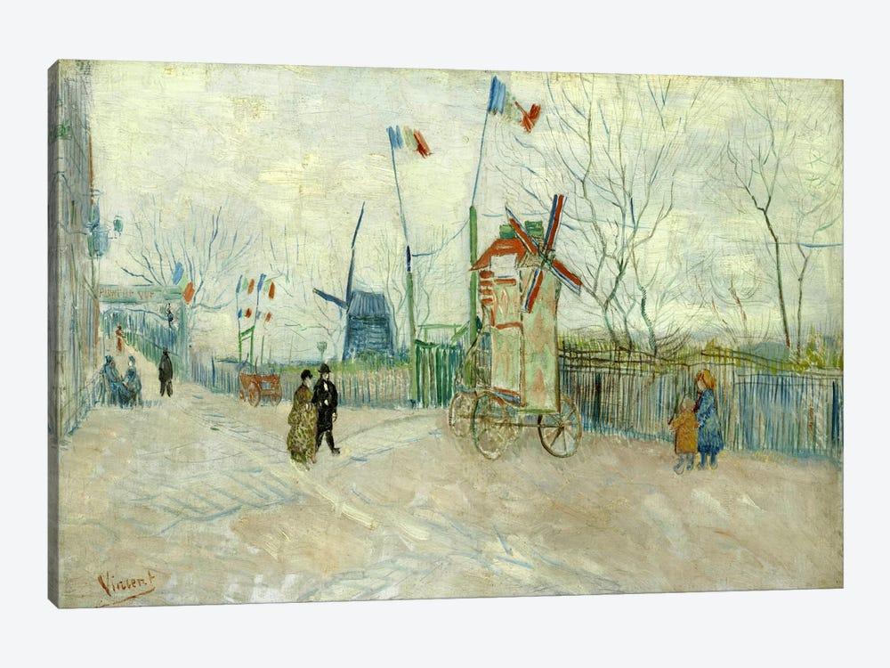 Impasse des Deux Freres by Vincent van Gogh 1-piece Canvas Artwork