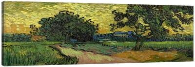 Landscape at Twilight Canvas Art Print