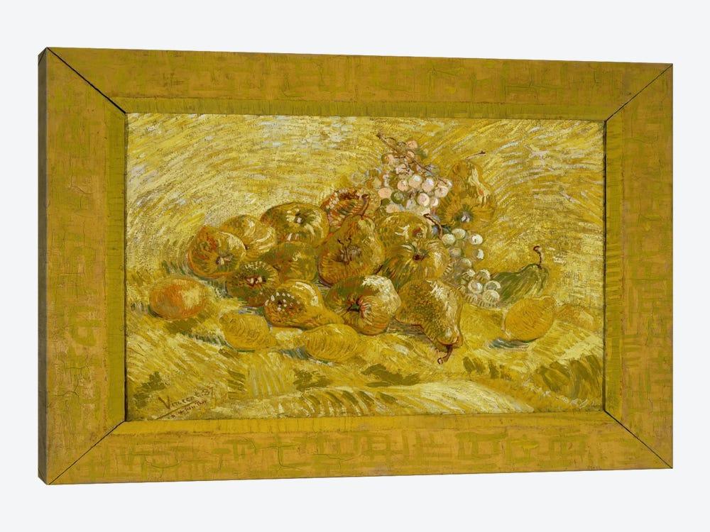 Quinces, Lemons, Pears, and Grapes by Vincent van Gogh 1-piece Canvas Artwork