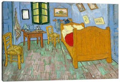 Bedroom In Arles, Second Version, September 1889 (Art Institute Of Chicago) Canvas Art Print
