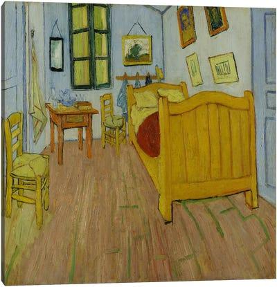 Bedroom in Arles Canvas Print #14401