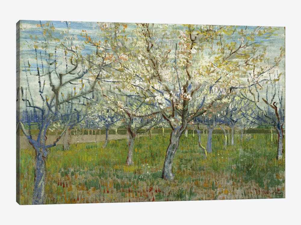 The Pink Orchard by Vincent van Gogh 1-piece Canvas Artwork