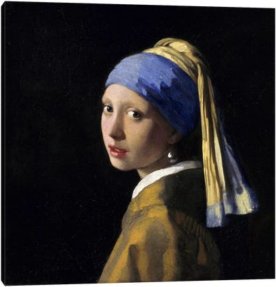 Girl with a Pearl Earring Canvas Print #1444