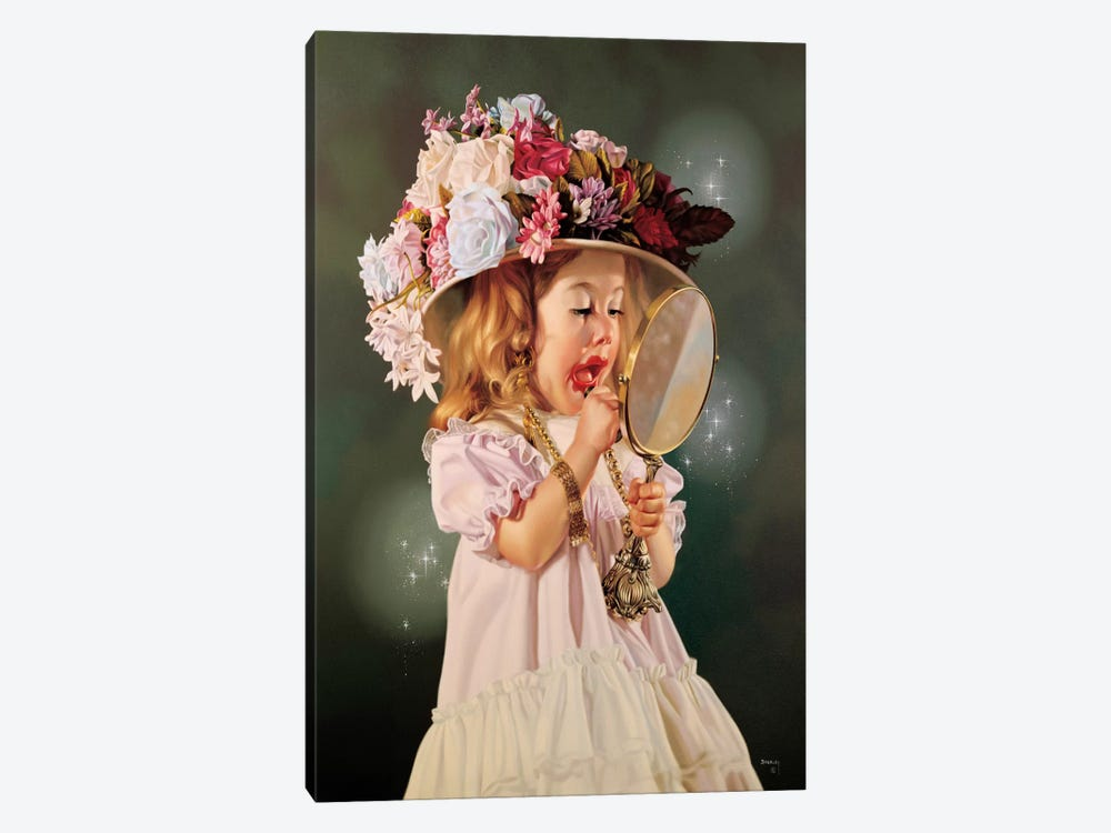 Jessica's Bonnet by Bob Byerley 1-piece Canvas Wall Art