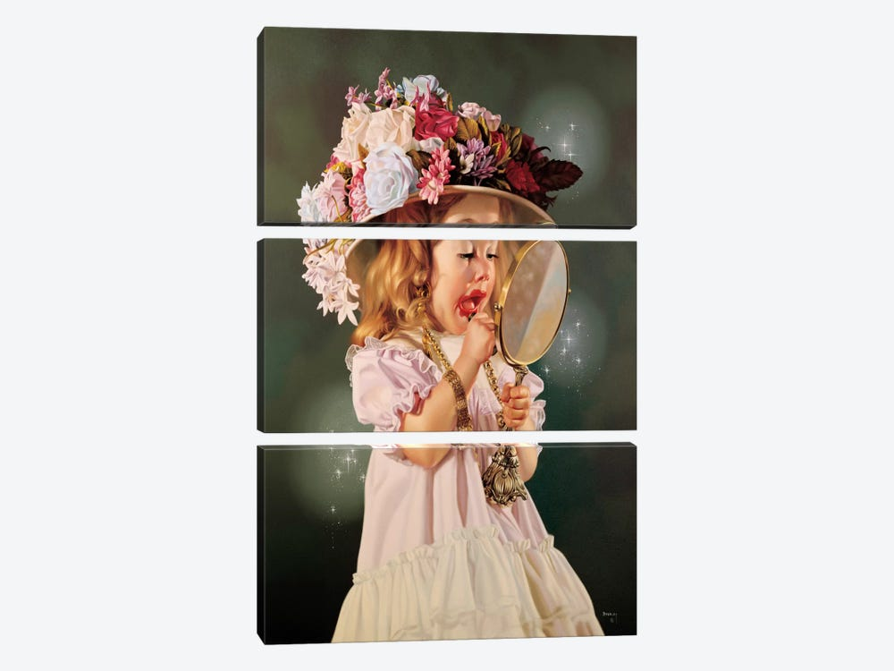 Jessica's Bonnet by Bob Byerley 3-piece Canvas Wall Art