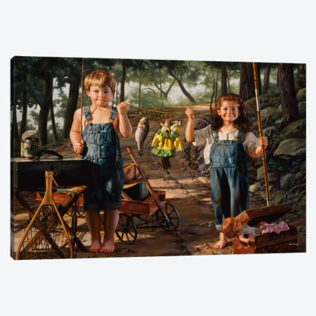Summer Snapshot Canvas Print #14488} by Bob Byerley Canvas Art Print