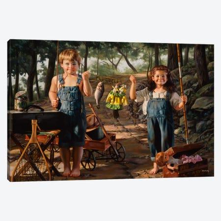 Summer Snapshot Canvas Print #14488} by Bob Byerley Canvas Art Print