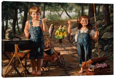 Summer Snapshot Canvas Art Print