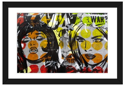 Another War Framed Art Print