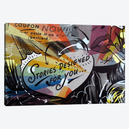 Coupon Stories Canvas Print #14495} by Dan Monteavaro Canvas Art Print
