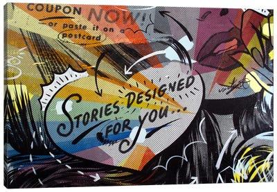 Coupon Stories Canvas Art Print